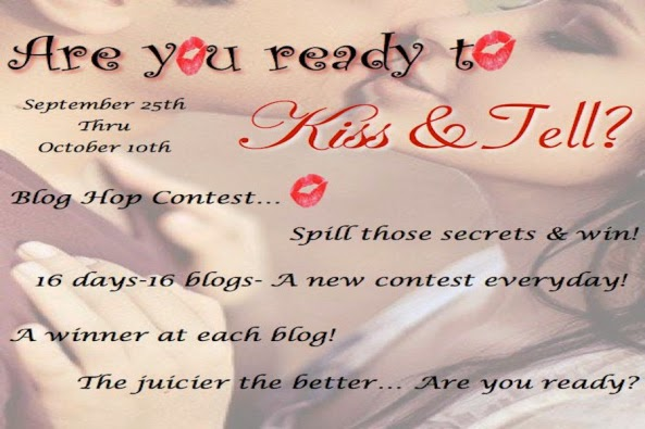 Kiss and Tell Blog Hop!