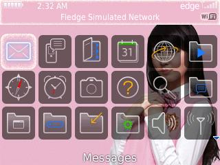 Tema Blackberry Personil JKT48
