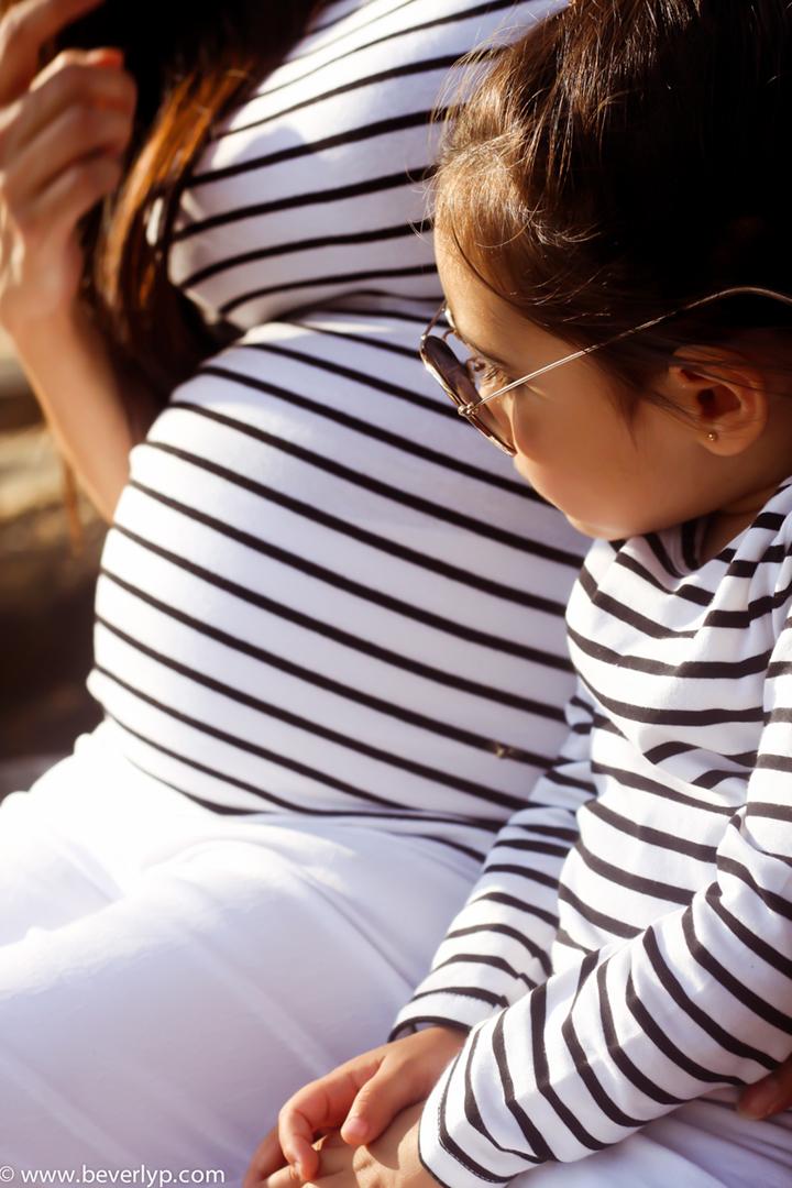mama embarazada a la moda