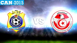 RD Congo - Tunisie - Coupe d'Afrique des Nations Football - 26 janvier 2015