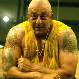 Sanjay Dutt New Bald Look