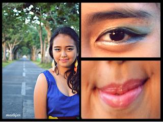 Aquamarine & Electric Blue Eyes & Pastel pink lips @ Beauty Bunker