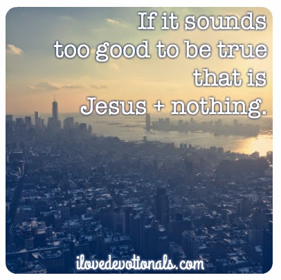 Jesus + nothing
