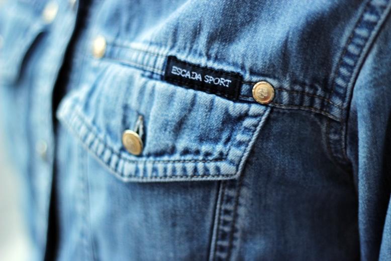 jeansjacke escada, escada sport, jeans, escada sportjeansjacke, jeans jacket