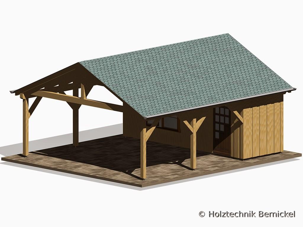 holztechnik bernickel carport holzbau. Black Bedroom Furniture Sets. Home Design Ideas