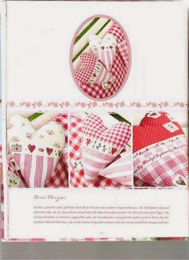 Molde para fazer coração de tecido