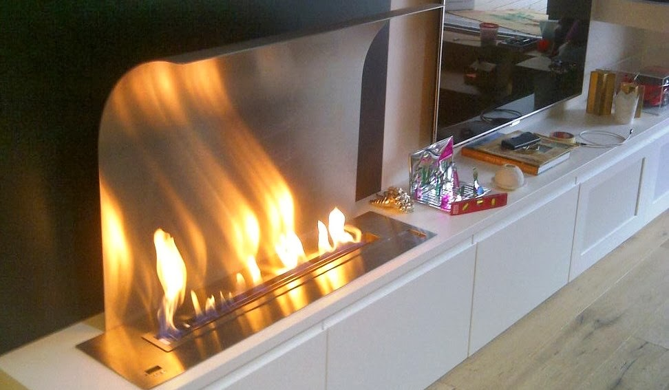 a fire ventless bio ethanol fireplaces and burners with remote