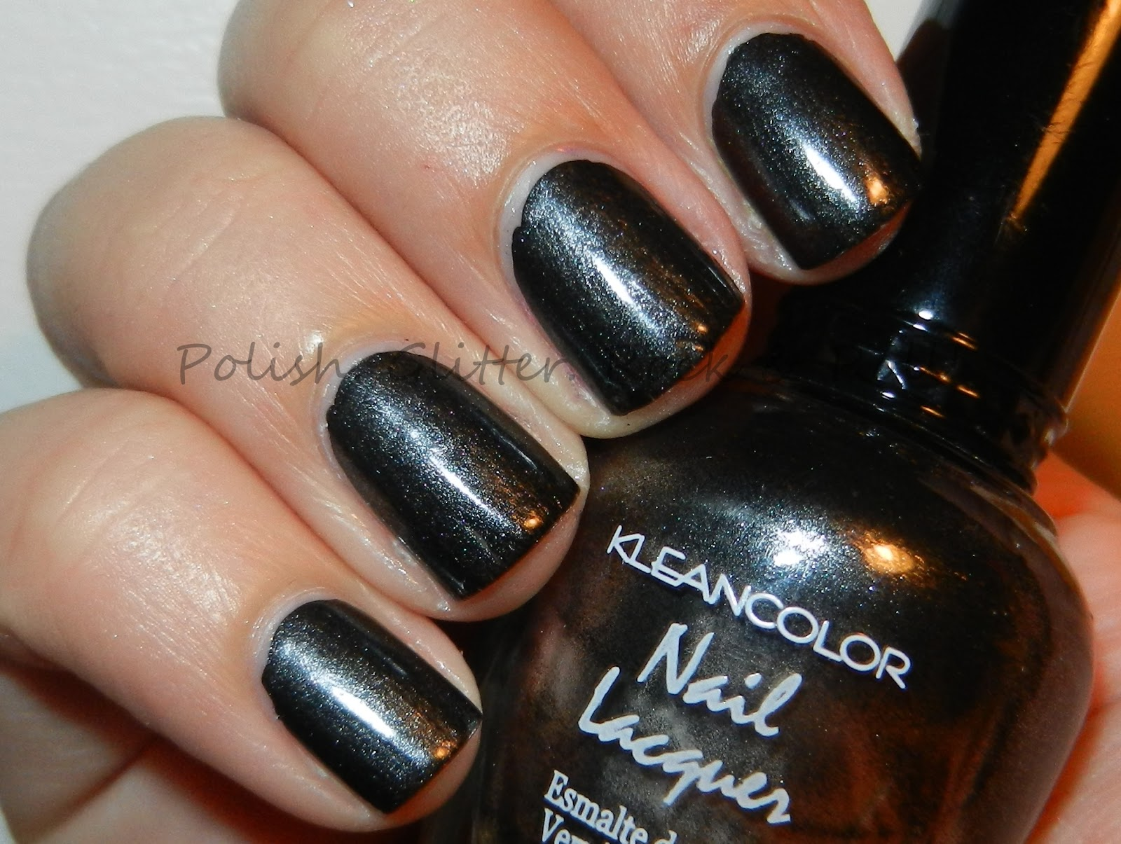 Polish. Glitter. Rock & Roll!: Kleancolor Metallic Black