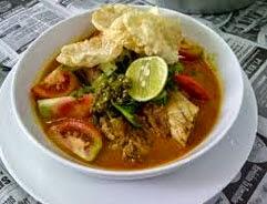 resep praktis dan mudah membuat (memasak) masakan soto khas betawi (Jakarta) spesial enak, lezat
