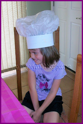 baker chef genie hat costume