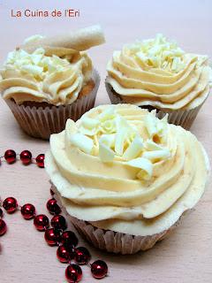 Cupcakes de Torró de Xixona