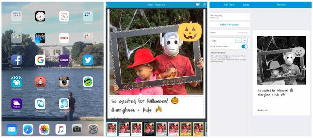 HP Social Media Snapshot app