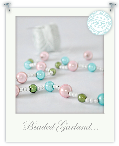Beaded Garland