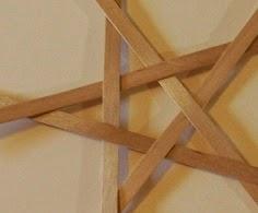 Pentagonal star.