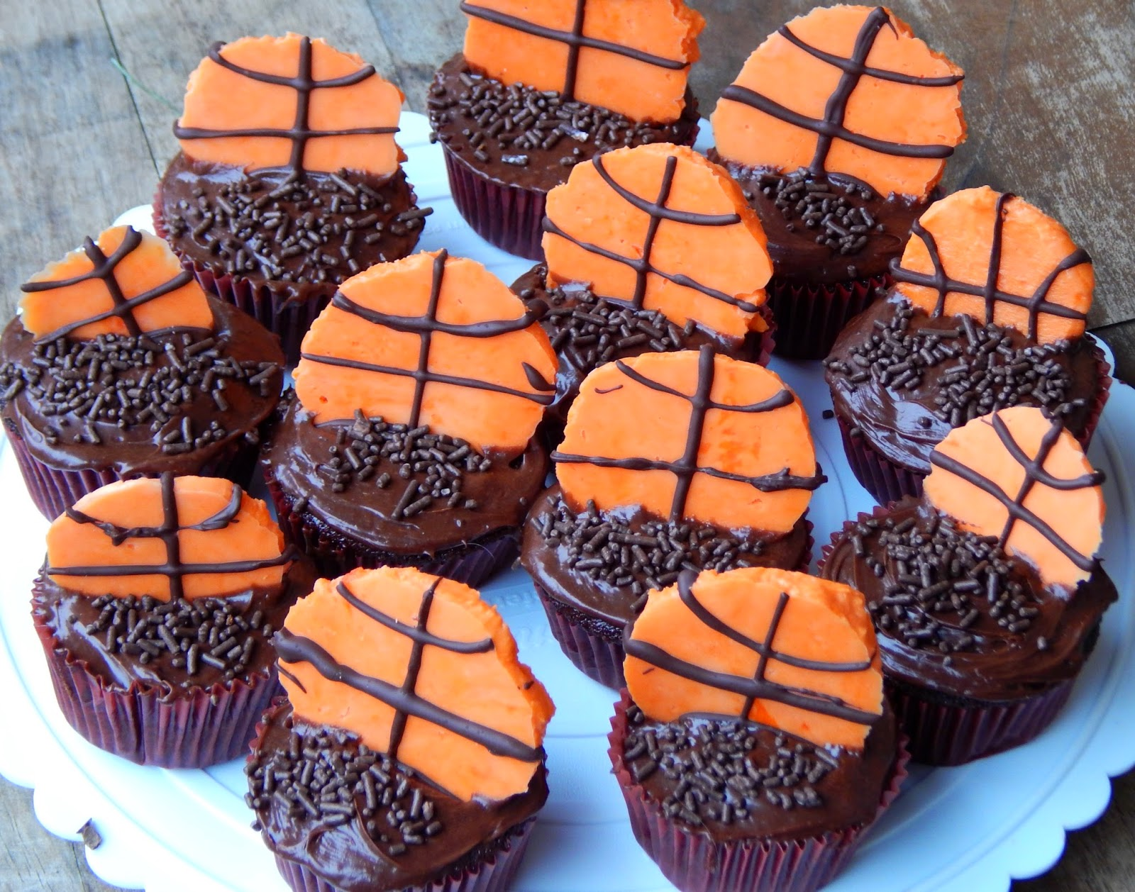 Photos and ideas for a NCAA® March Madness Celebration + Recipe for Chocolate Cherry Cupcakes #FinalFourPack #ad