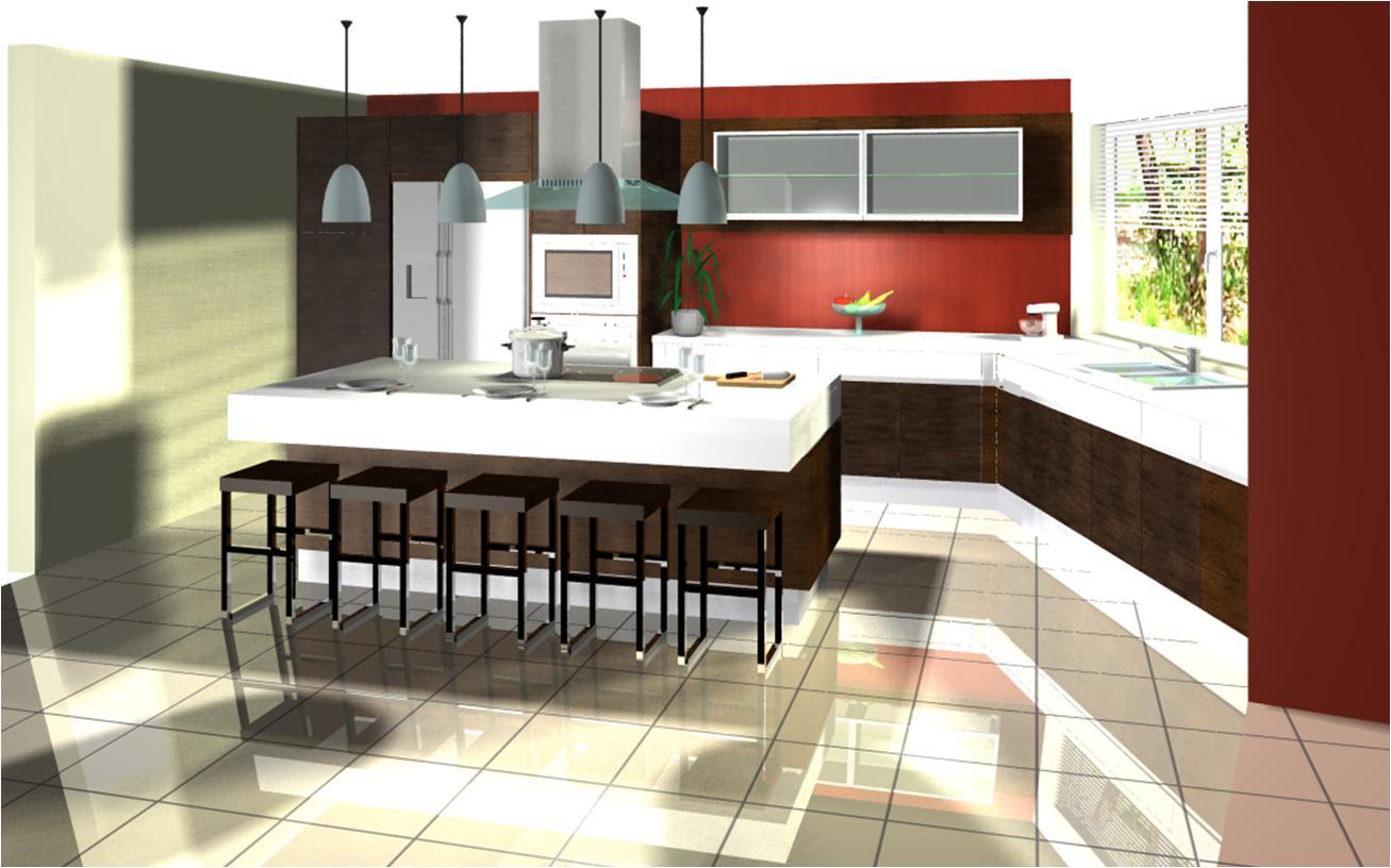 Dise o interior cocinas xpaziovisual - Atea diseno interior ...