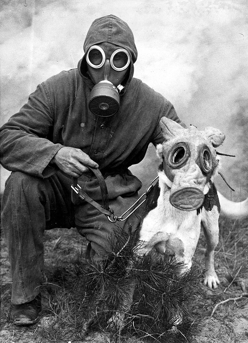 against threat of chemical warfare 15 vintage photos of