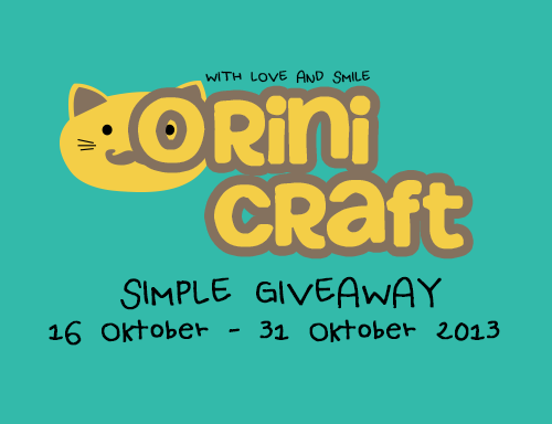 Orini Craft Simple Giveaway