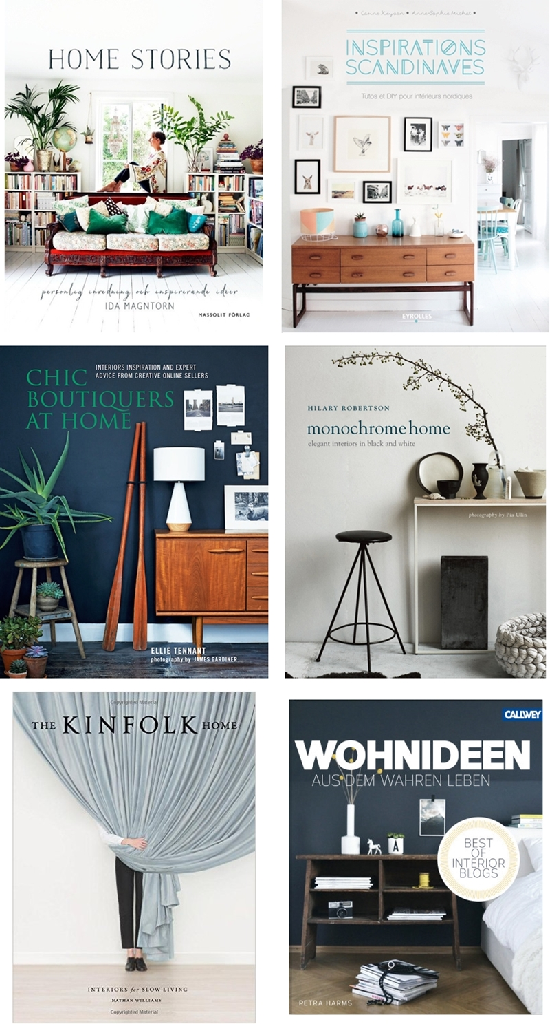 6 recent books on interior design to discover