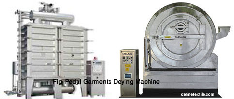Pedal-Garments-Dyeing-Machine