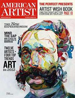 American Artist December January 2012