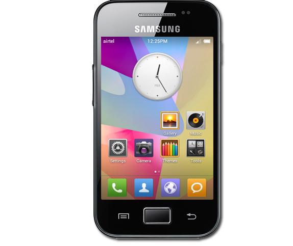 как делать скриншот на телефоне samsung gt-5830i