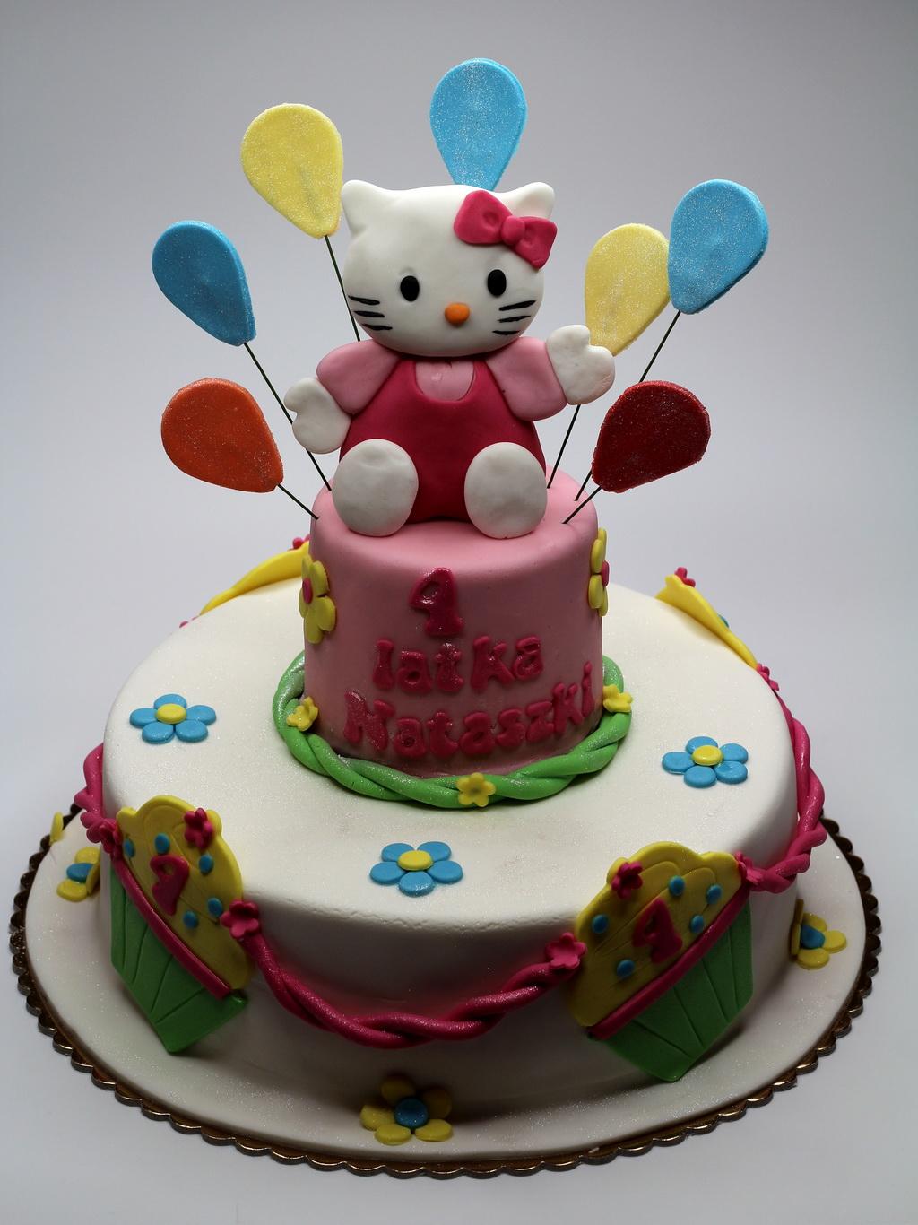 Hello kitty children cake london