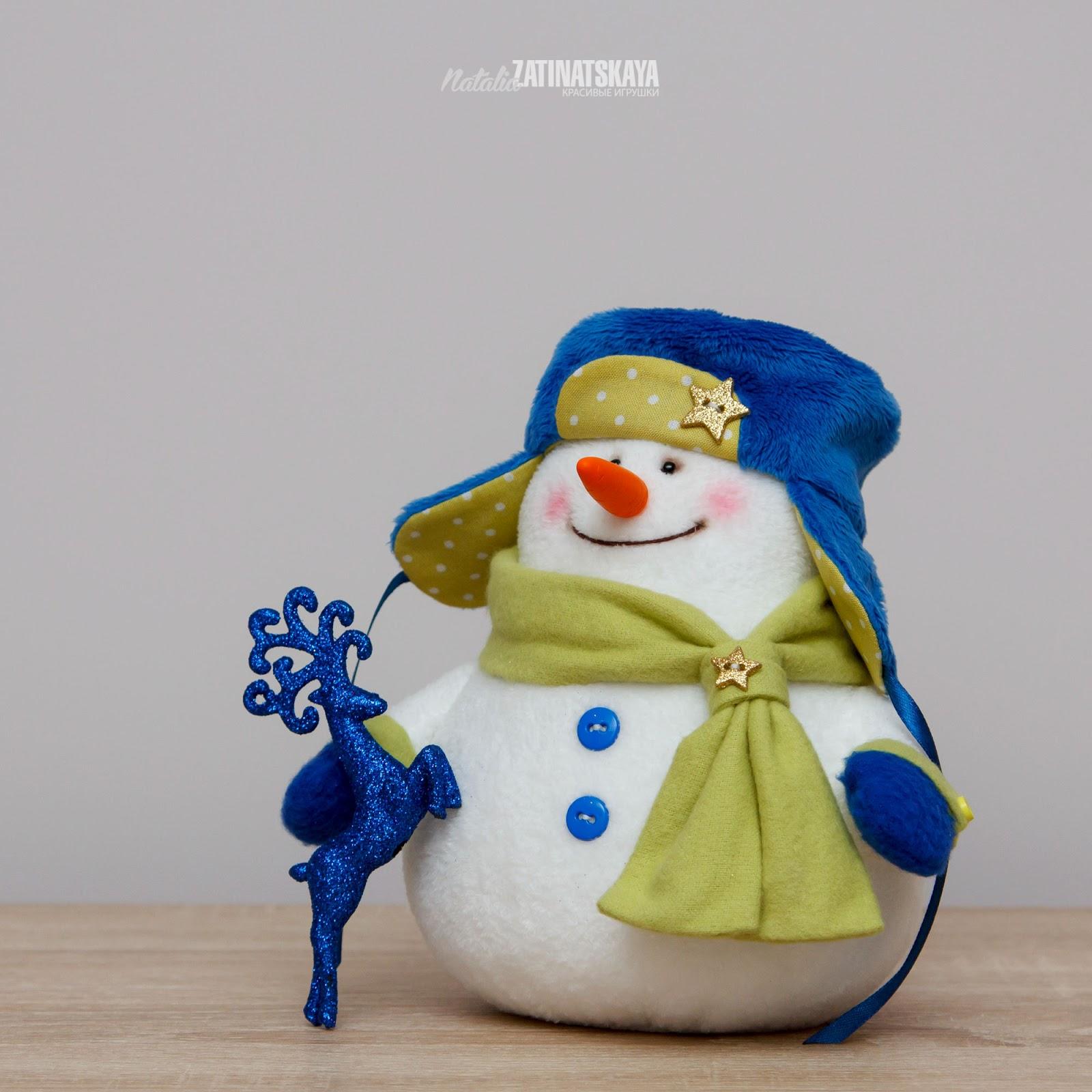 Прикольные снеговики сшить 43