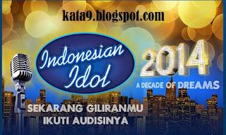 Jadwal hasil seleksi audisi finalis Indonesian Idol 8 2014