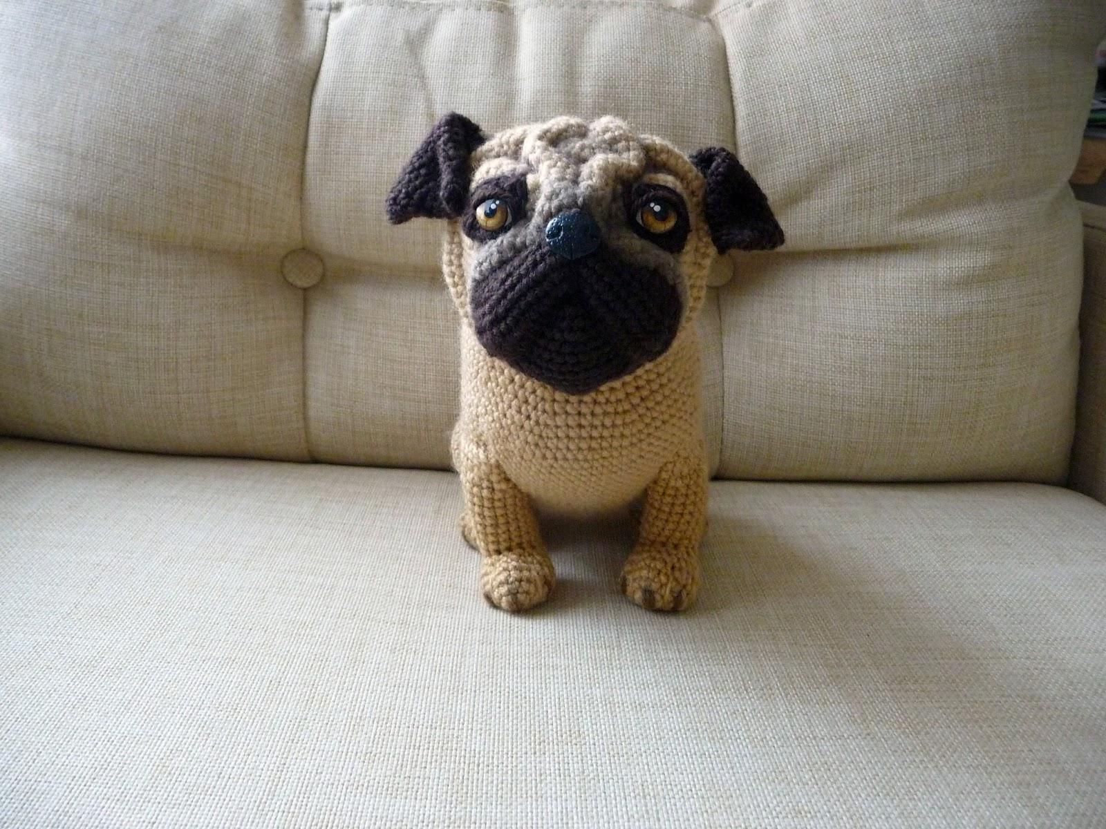 Amigurumi Free Patterns Dog : Mancita: Amigurumi - Pug