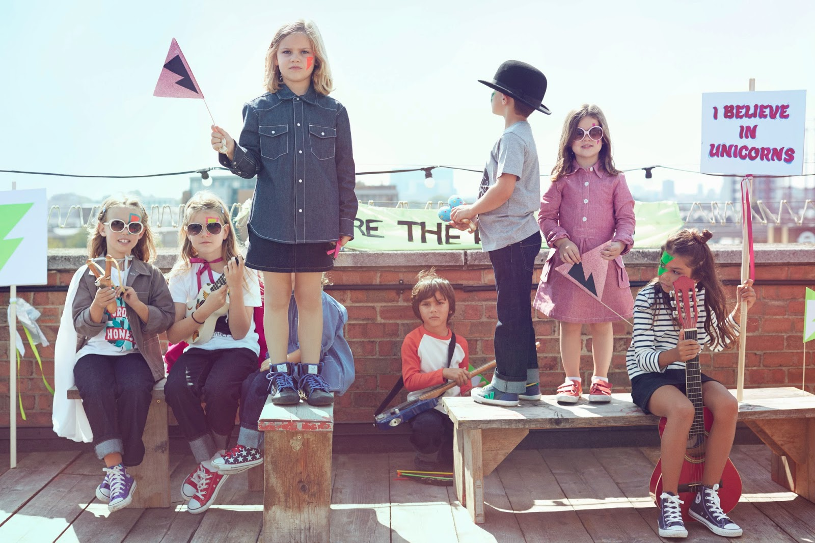 Cool, sustainable streetwear for kids by the Fableists