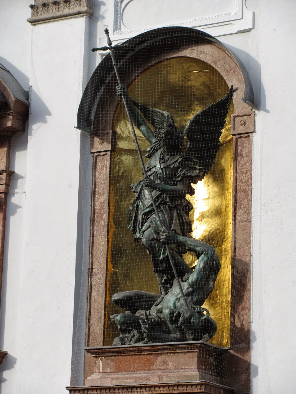 St. Michael Rockin' the Spear Munich
