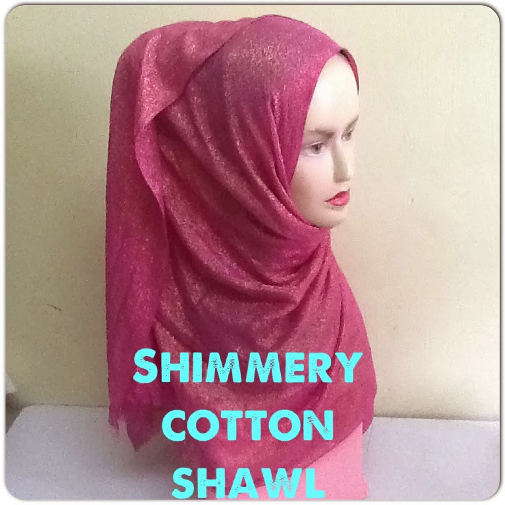 NEW COLLECTION : SHAWL SHIMMER / GLITTER...
