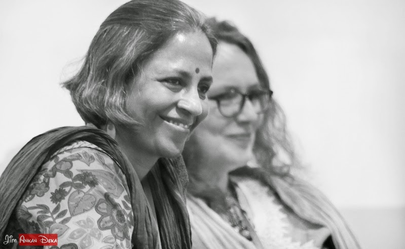 Asha Nehemiah, Sophie Benini Pietromarchi at Jumpstart-14, Bangalore (photo - Jim Ankan Deka)