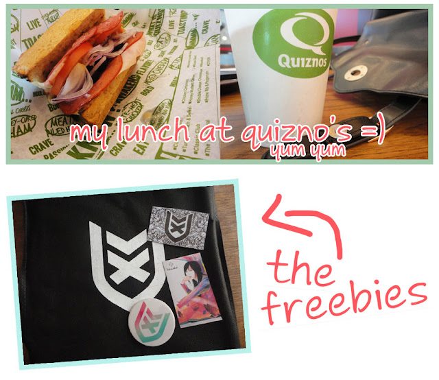 Art Li and Stuff - My Lunch - The freebies