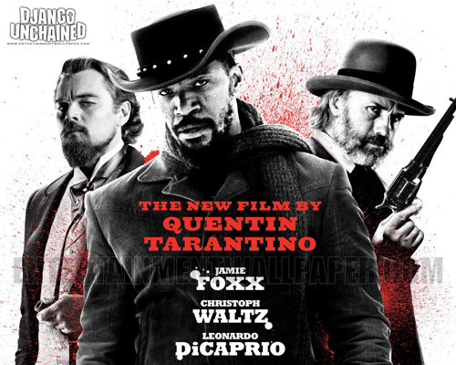 "In the movie Django Unchanged, Jamie Foxx (foreground) was marketed as the star and main character. But in fact he played the role of a ""sidekick"" and trainee of the character played by Christoph Waltz (right). Foxx's character didn't even get to kill the villain who enslaved and abused his wife. The character played by Waltz had the honor."