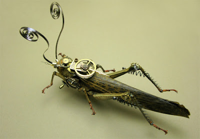Unique Steampunk Insects Seen On www.coolpicturegallery.us