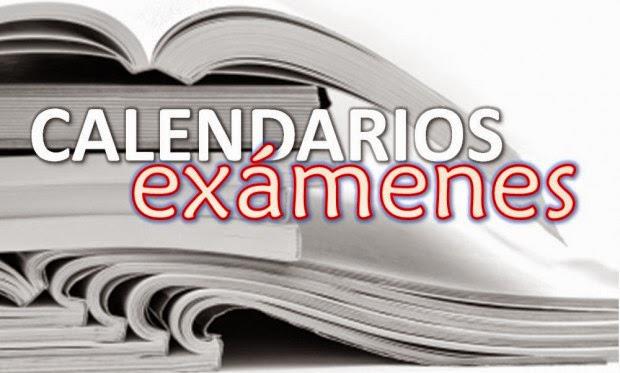 Mesas de exámenes hasta febrero 2017