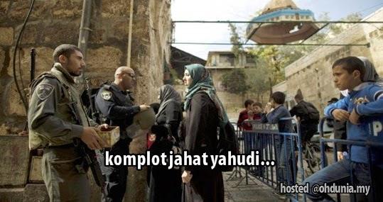 Komplot Jahat Yahudi Untuk Cemari Masjidil Aqsa Dan Baitulmaqdis
