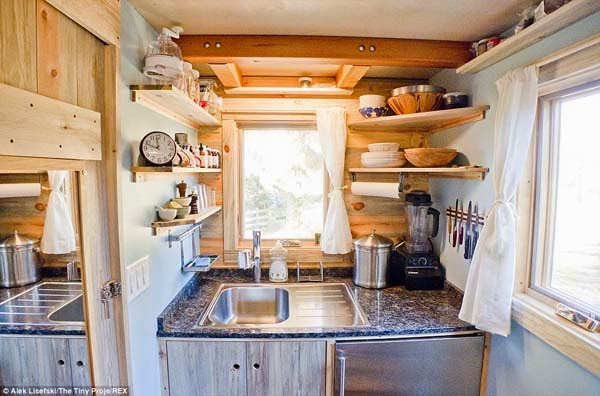 A 31 Year Old Was Sick Of Expensive Rent & High Costs. What He Did Took Guts… But Look Inside.
