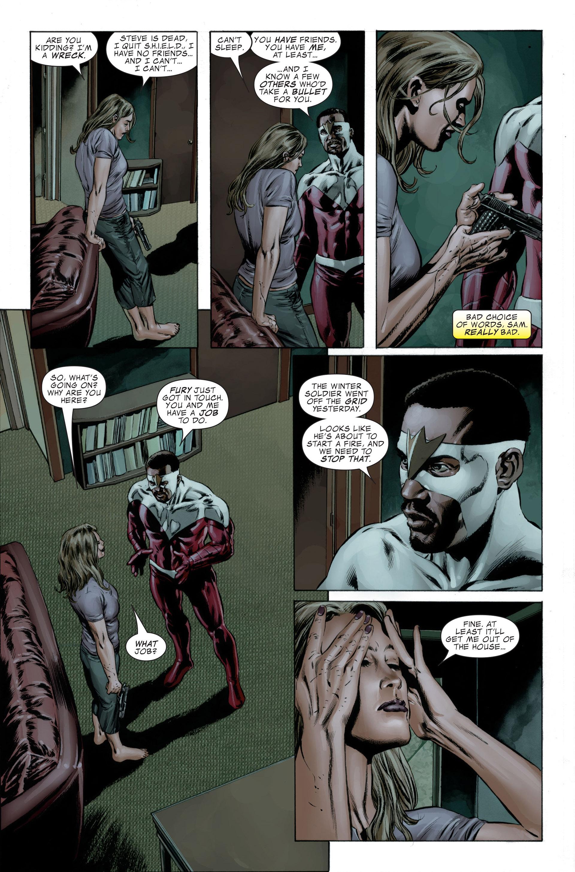 Captain America (2005) Issue #27 #27 - English 9