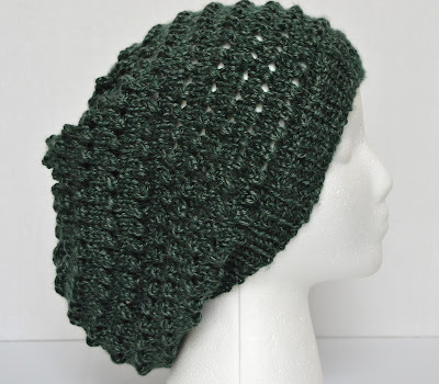 slouchy hat, slouchy beanie, https://www.etsy.com/shop/JeannieGrayKnits