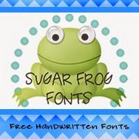 Sugar Frog Fonts --Website No Longer Available--