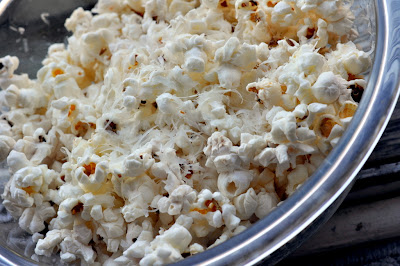 Paper Bag Parmesan Popcorn - Photo by Taste As You Go