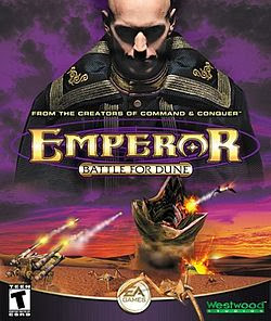 Emperor Battle For Dune PC Cover