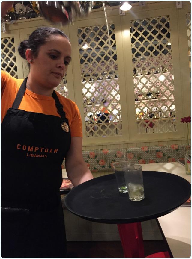 Comptoir Libanais, Manchester - Tea