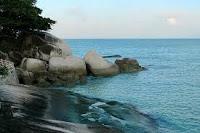 7 tempat wisata pantai yang terkenal di bangka belitung,Pantai Matras