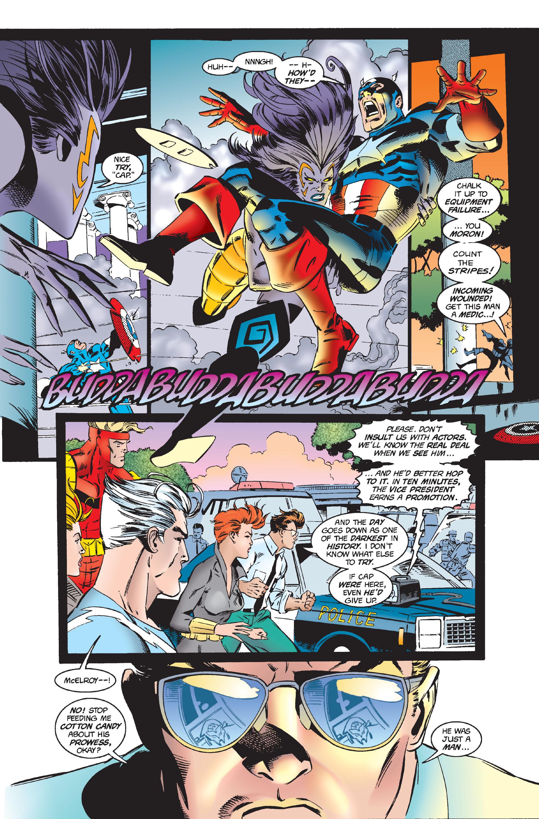 Captain America (1968) Issue #444 #398 - English 11