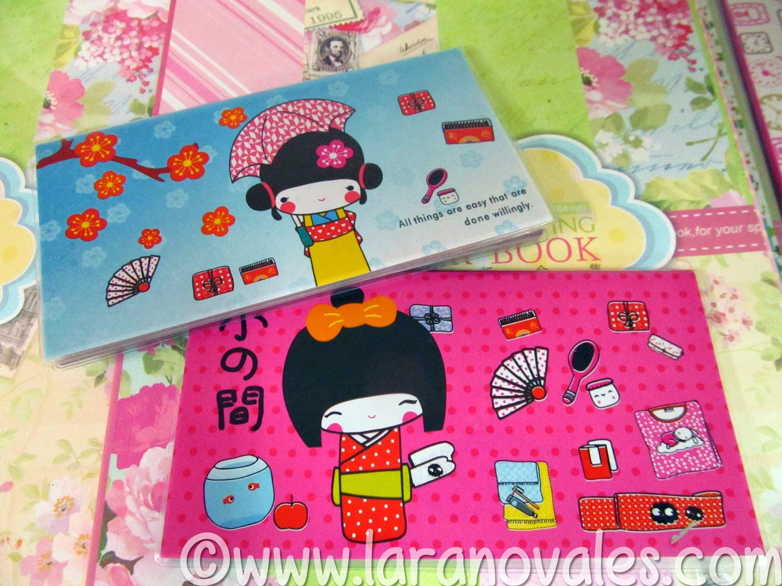 kokeshi Doll Planner organizer Oki Doki Crafts