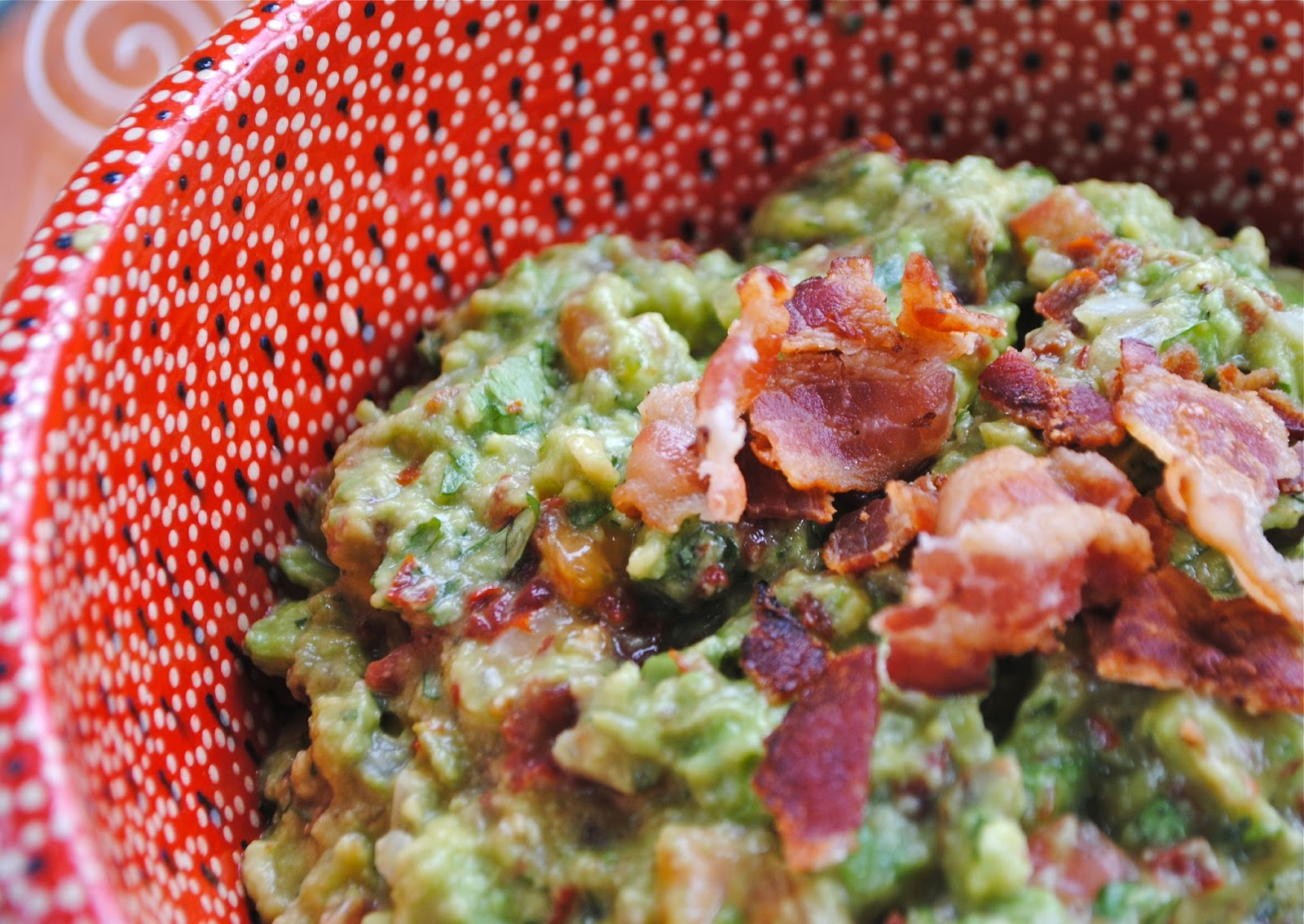 Recipe Doodle: BACON AND TOMATO GUACAMOLE and CHUNKY GUACAMOLE and ...